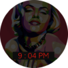 marilyn watch face ight