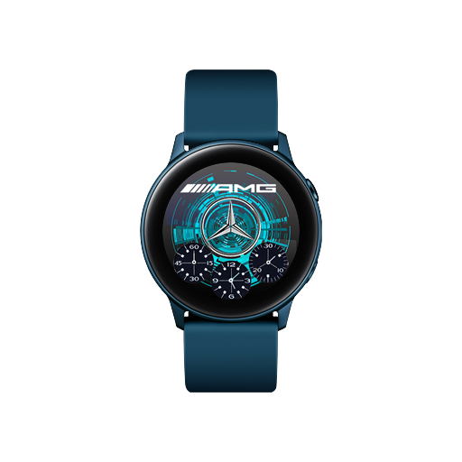Mercedes AMG Watch Face