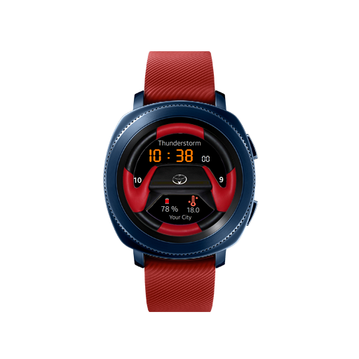 Toyota Watch Face