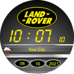 Land Rover Watch Face