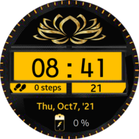 Malmo Gold Watch Face